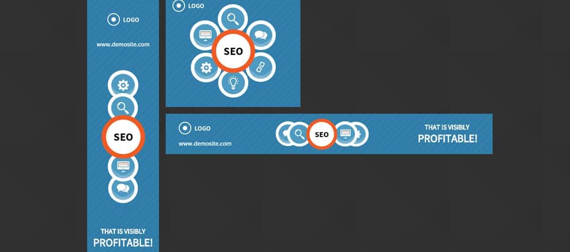 SEO HTML 5 Animated Google Banner