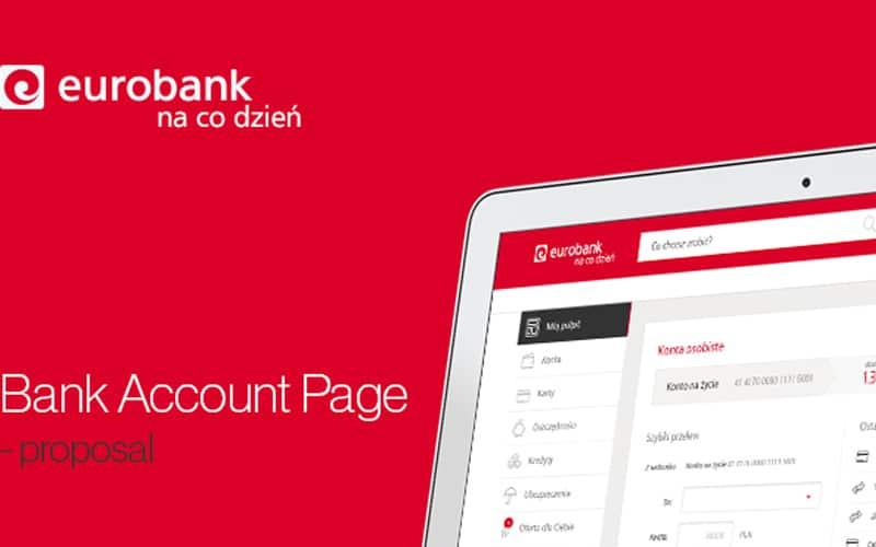 Eurobank Web App Designs