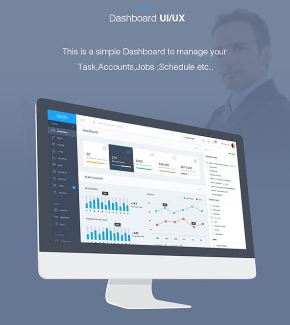 Dashboard Admin UI UX