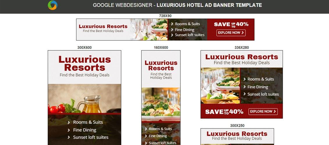 Hotel Banners Designer