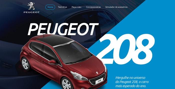 Peugeot-208-Landing-Page---Redesign