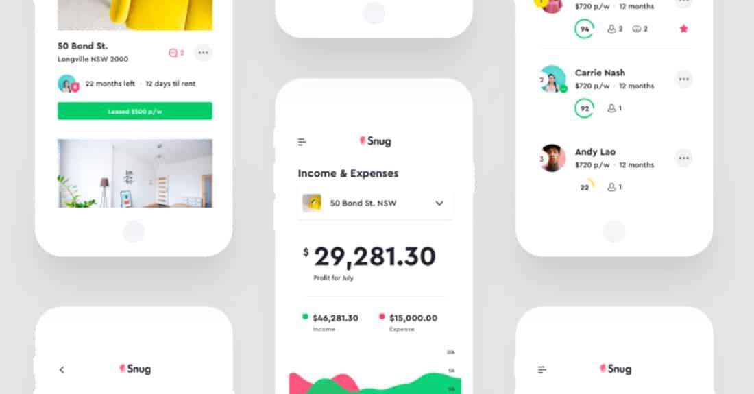 Snug UI Mobile Charts