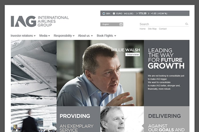 IAG grid website