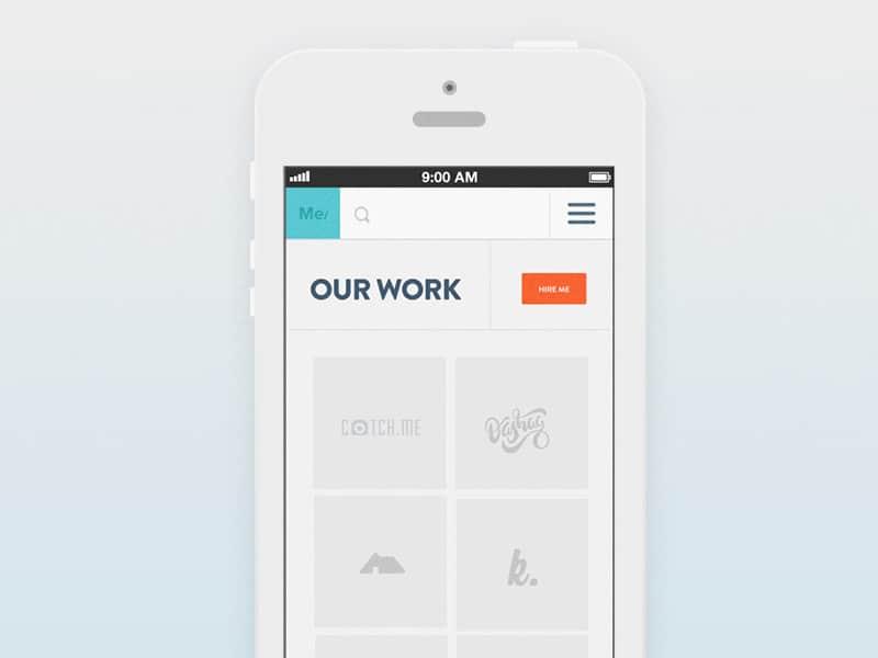 Work App Designs