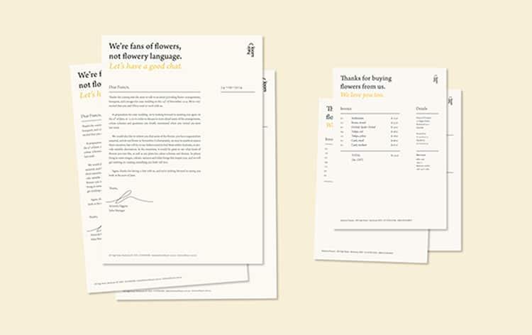 Friendly Invoice Designs