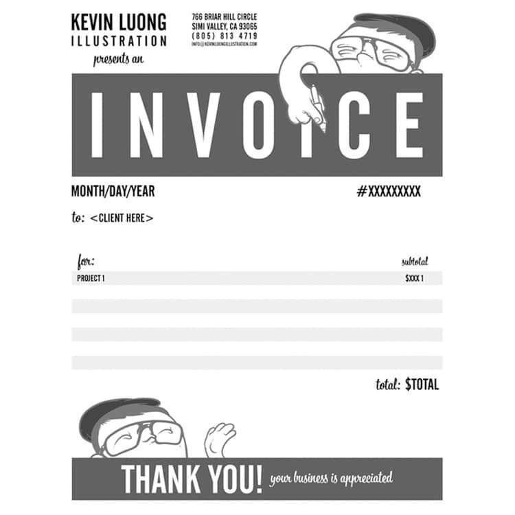 Invoice Designs Skills