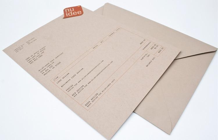 Organic Invoice Designs