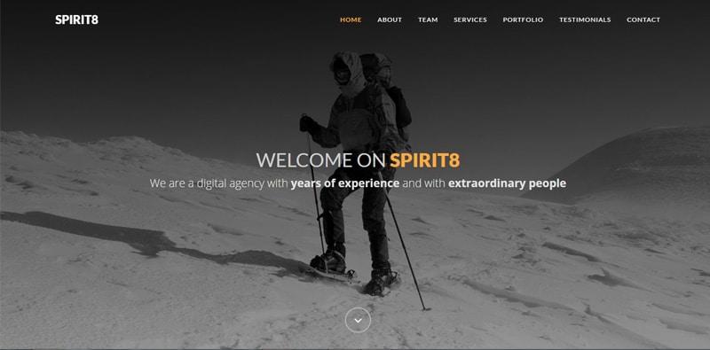Spirit8---Free-Bootstrap-HTML-template
