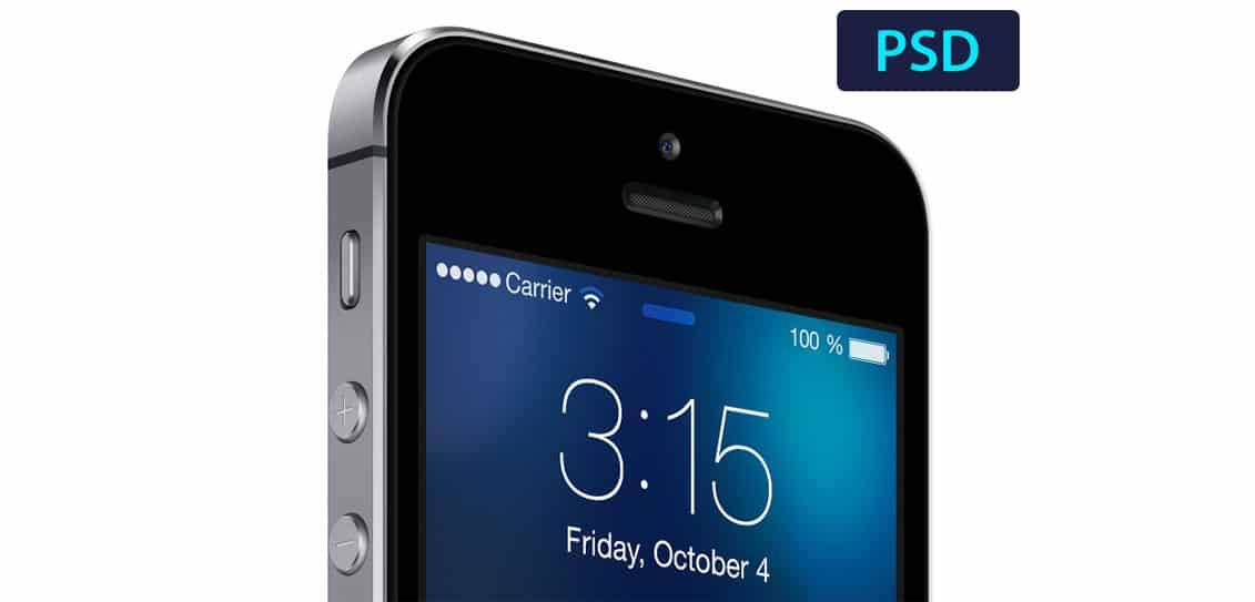 iOS7 lockscreen template