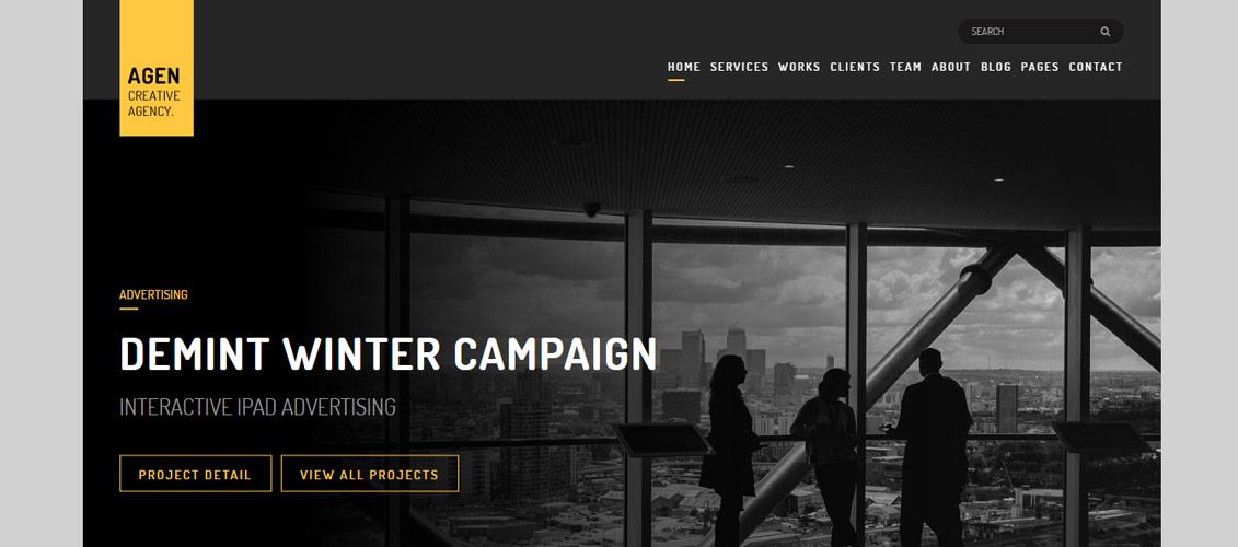 AGEN Digital Downloads Website Templates Theme