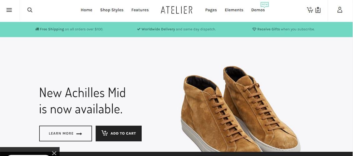 Atelier Creative Digital Downloads Website