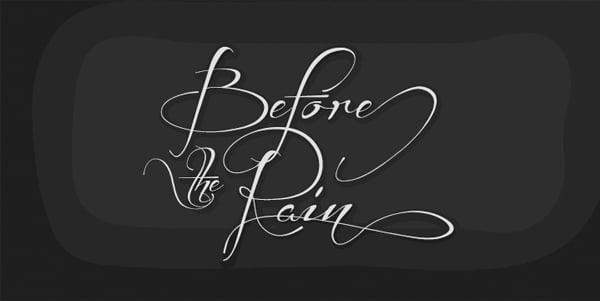 Before-the-Rain-font