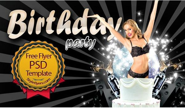 Birthday Flyer PSD