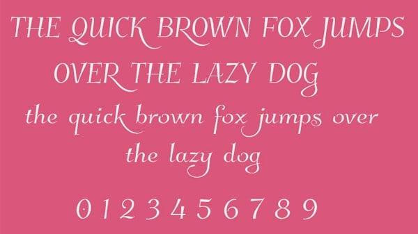 Cursive-Font-Style