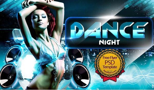 Dance Flyer PSD