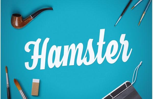 Hamster-Script-Free-Font