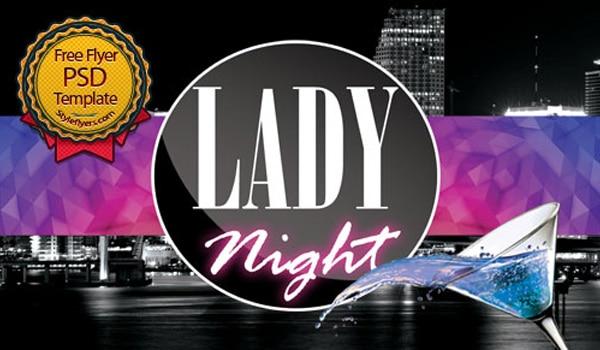 Lady Flyer PSD