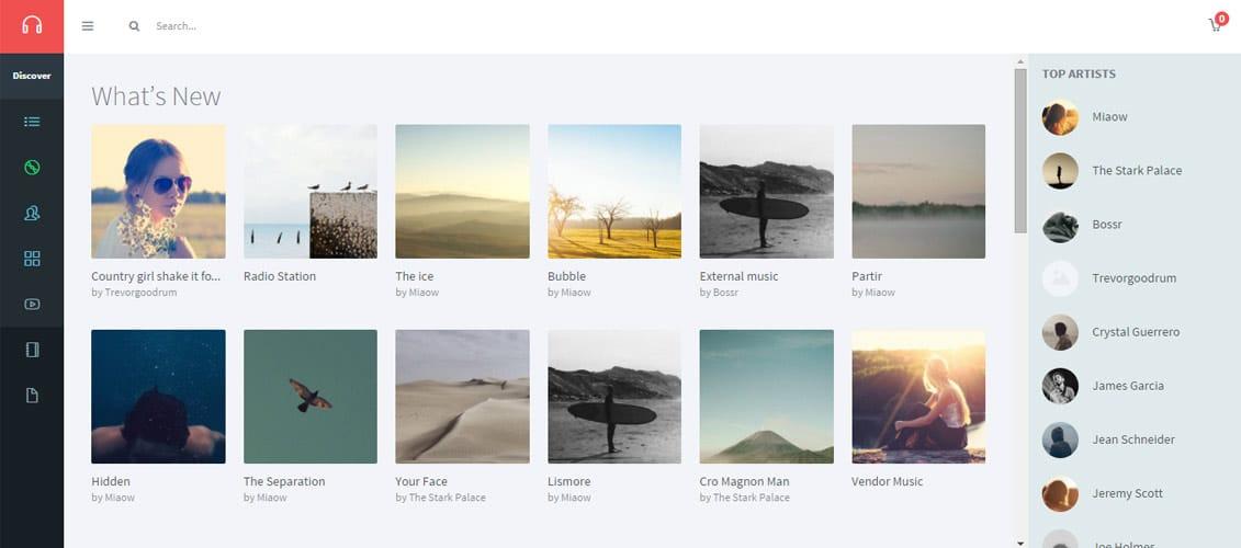 Musik Digital Downloads Website