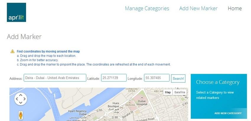 Net Google Map Dynamic Markers