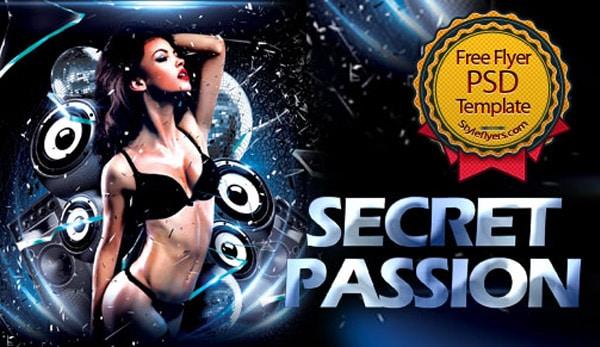 Secret Passion Flyer