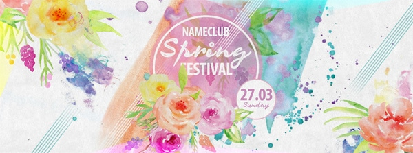 Spring Flyer PSD