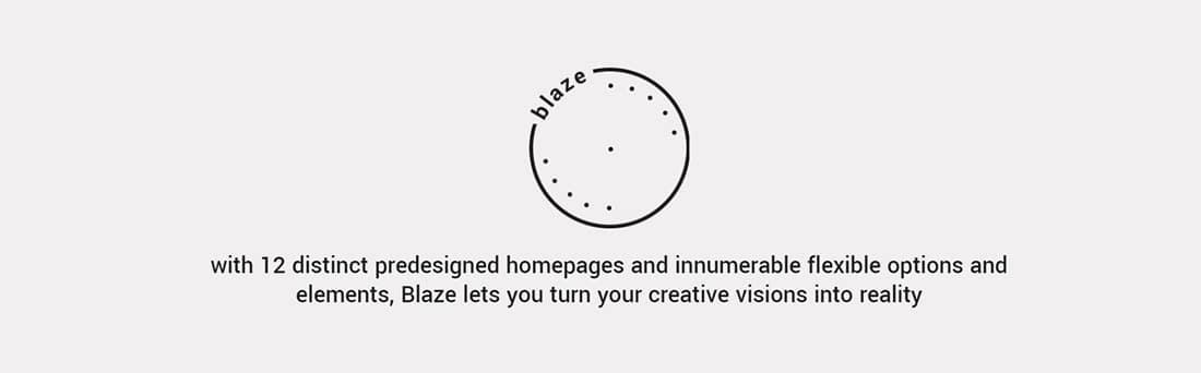 Blaze - A Portfolio Theme