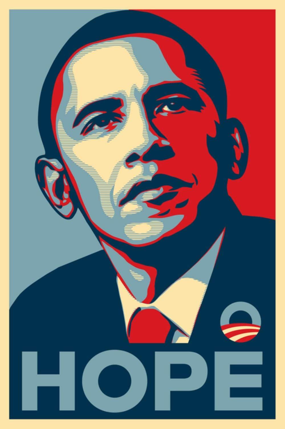 Hope Poster - Barack Obama