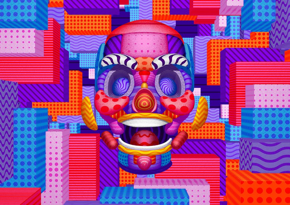 Noise x GIF fest Identity