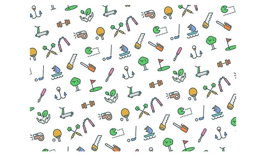 Icon Patterns free icon sets