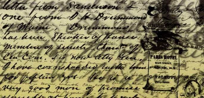 10 Vintage Handwriting Brushes