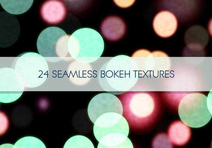Seamless Bokeh Textures Free Photoshop Brushes