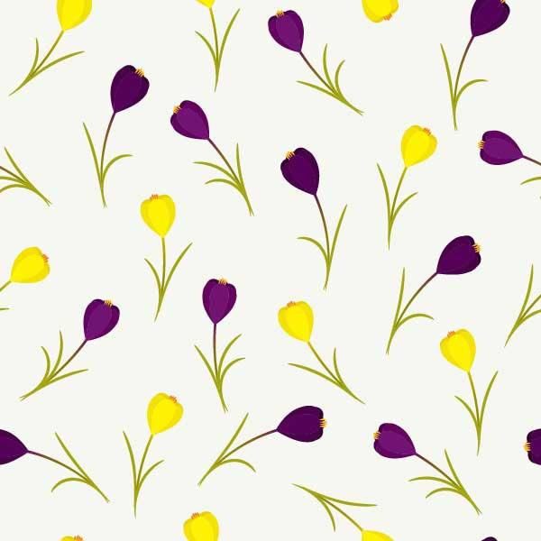 Spring Floral Pattern Tutorials