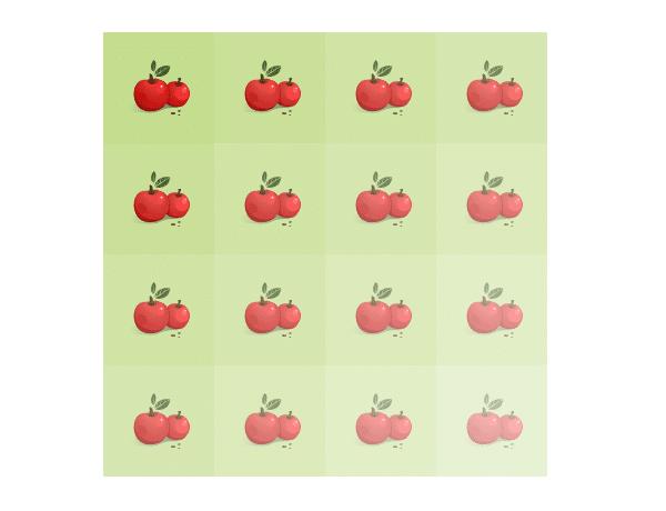 Bright Geometric Circle Pattern in Adobe Illustrator