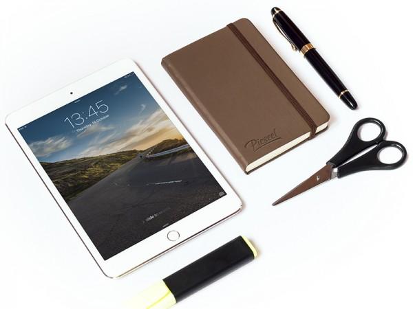 15 iPad Mini Stationary Mockup