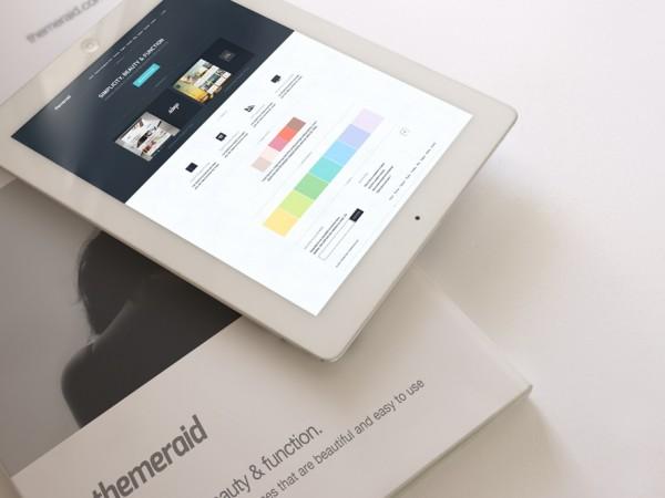 19 iPad & Magazine Mockup