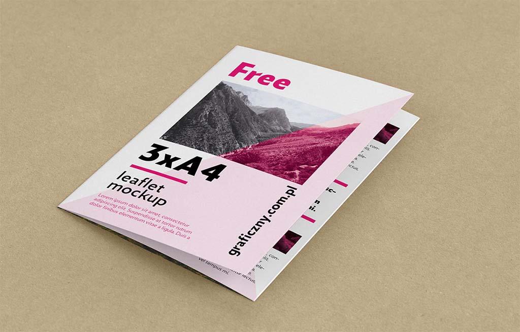 22 Trifold Leaflet Mockup