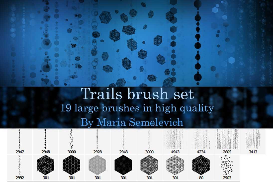 Free Photoshop Brushes Trails