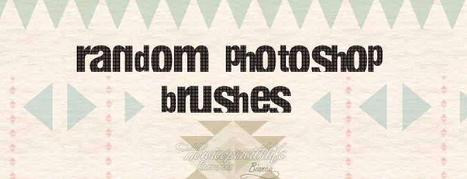 Free Photoshop Brushes Random Shapes