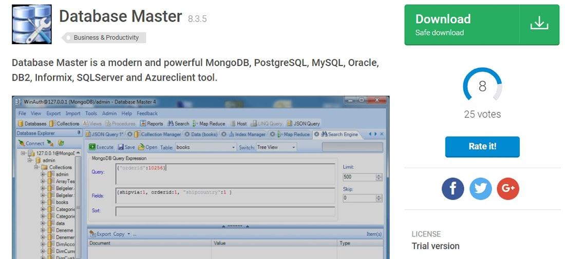 Database Master - Download