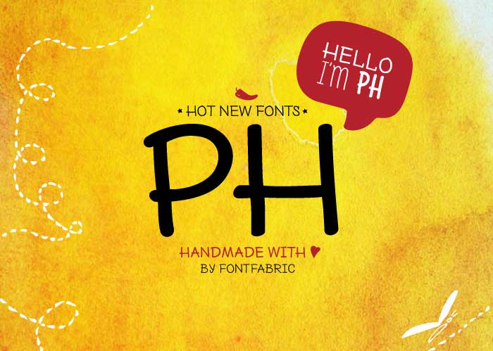 10 PH free fonts