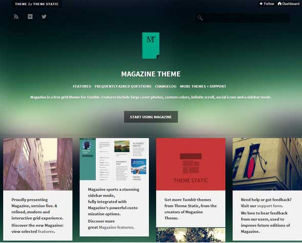 11 Magazine Grid based Infinite Scroll Theme