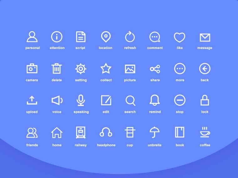 19 Free Social Network Icons