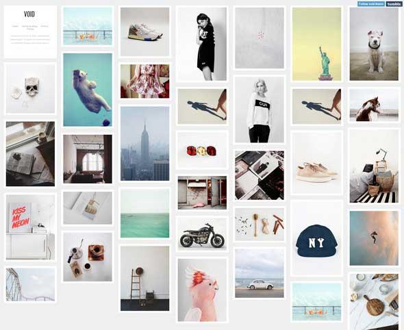 22 Void Tumblr Theme