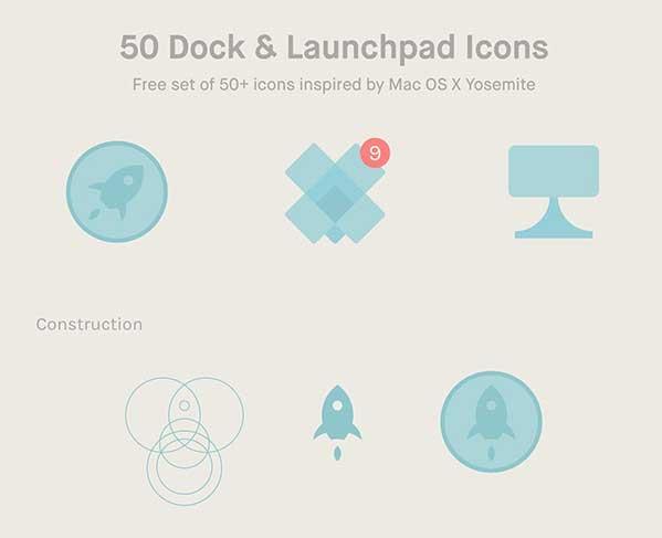 Dock Launchpad Icons