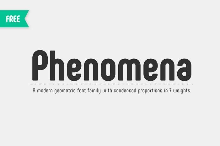 3 Phenomena font