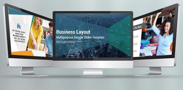 business layout multipurpose google slides