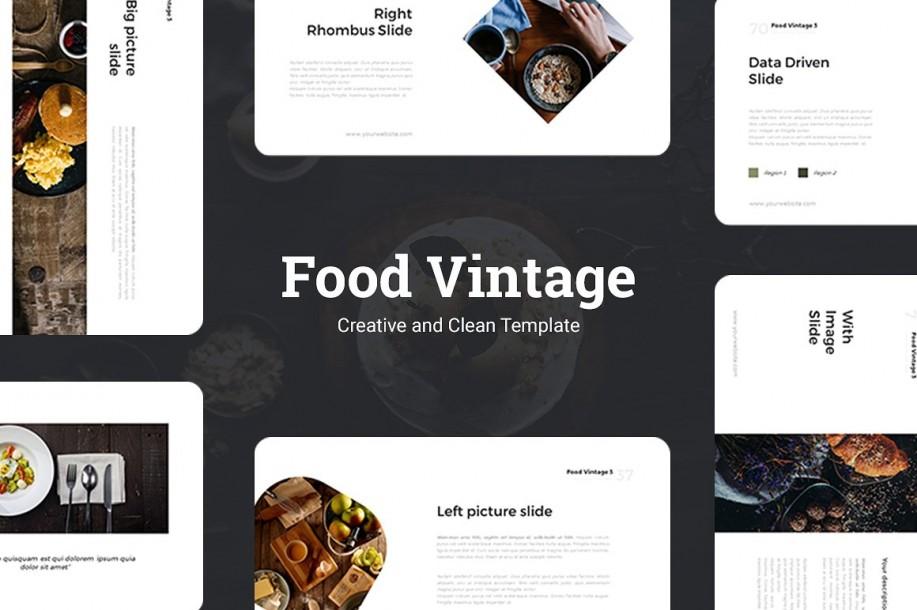Food Vintage Presentation Template
