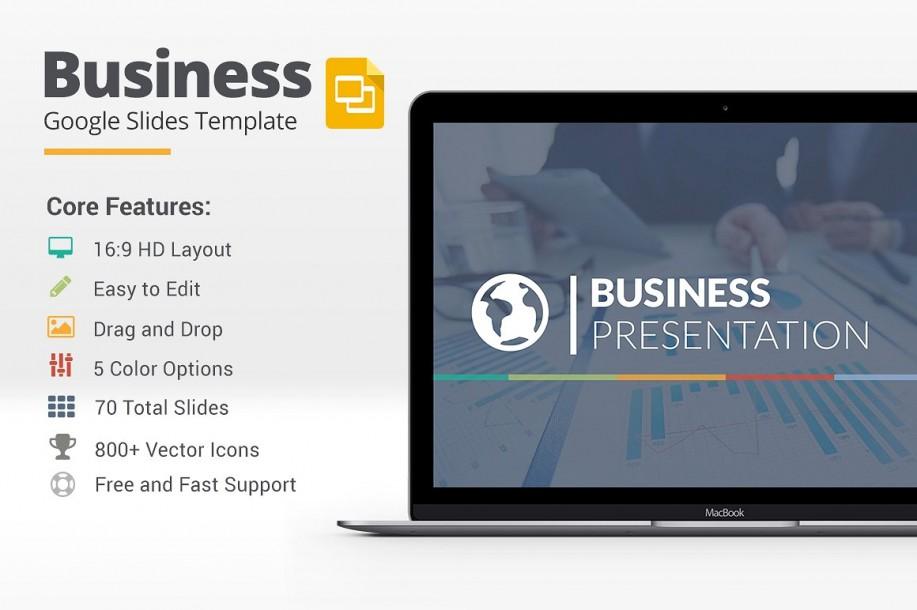 Business Google Slides Template