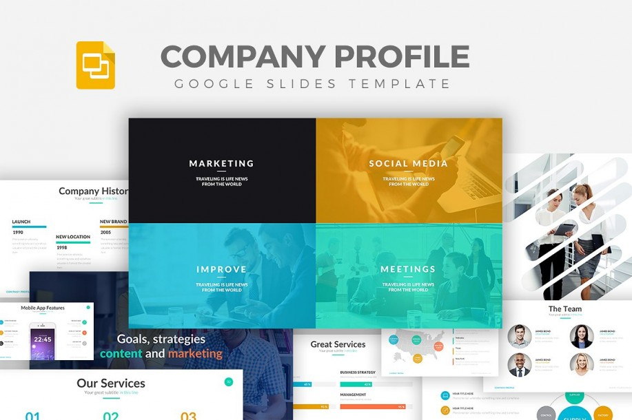 Company Profile - Google Slides