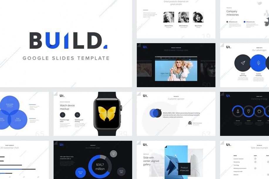 BUILD Google Slides Template